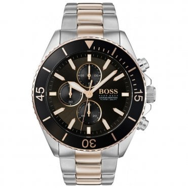 Men s Two-Tone Ocean Edition Chorongraph Watch 1513705 3077d177c