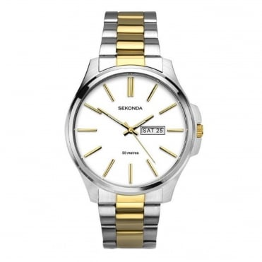 Men's Two Tone Watch 1439