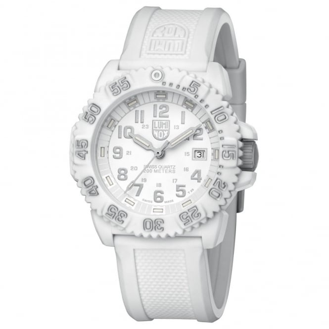 Men's White Colormark Watch 3057.WO