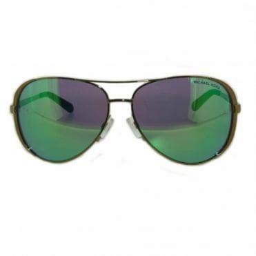 Michael Kors Gold Sunglasses MK5004 10043R