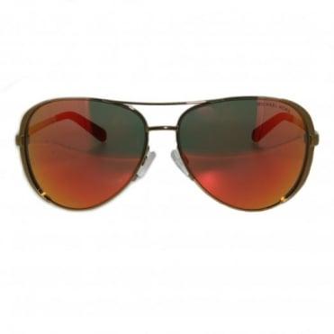 Michael Kors Gold Sunglasses MK500410146Q