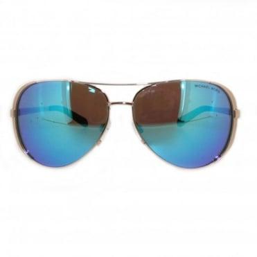 Michael Kors Rose Gold Sunglasses MK5004 100325
