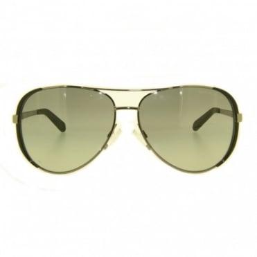 Michael Kors Rose Gold Sunglasses MK5004 1017R1