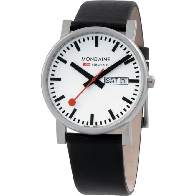 Mondaine Gents' Evo Day & Date Watch A667.30344.11SBB