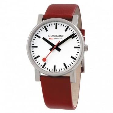 Mondaine Gents' Evo Giant Strap Watch A660.30344.11SBC