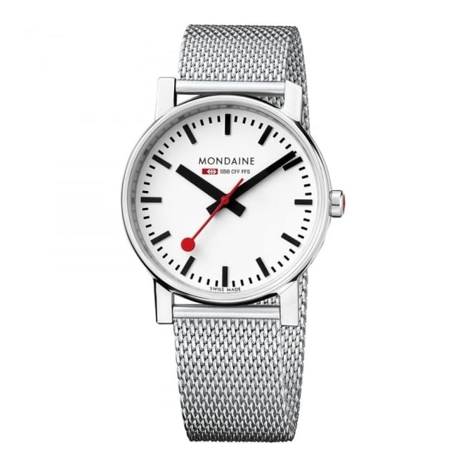Mondaine Gents' Evo S/Steel Watch A658.30300.11SBV