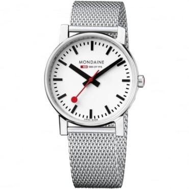 Mondaine Gents' Evo S/Steel Watch A658.30300.11SBV