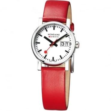 Mondaine Ladies' Evo Big Date Watch A669.30305.11SBC
