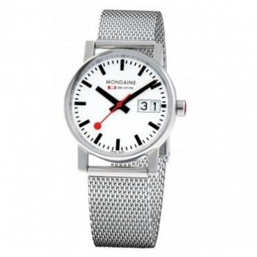 Mondaine Ladies' Evo Big Date Watch A669.30305.11SBM