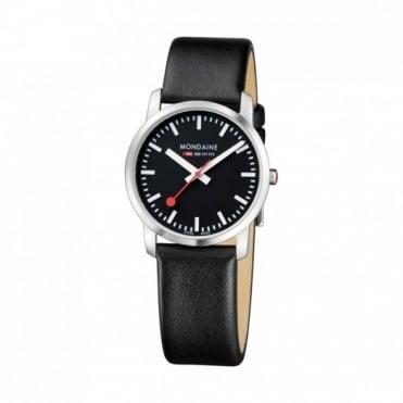 Mondaine Unisex Simply Elegant Watch A400.30351.14SBB