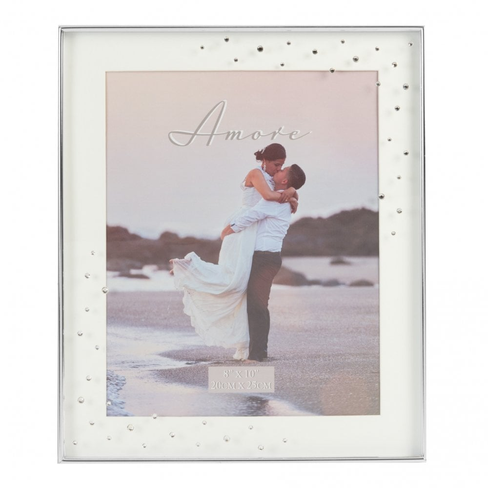 Mr And Mrs Wedding 8x10 Photo Frame Giftware From Hillier