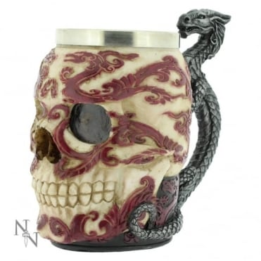 Nemesis Now Anne Stokes Eastern Dragon Skull Tankard B1797E5