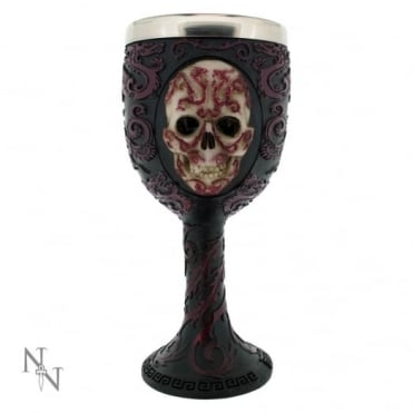 Nemesis Now Anne Stokes Oriental Skull Goblet B1985F6