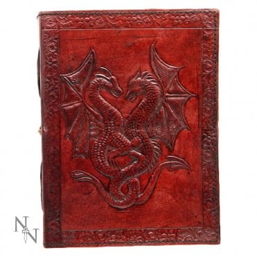 Nemesis Now Double Dragon Leather Embossed Journal D1020C4