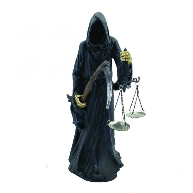 Nemesis Now Final Check In Grimm Reaper Figurine U3391J7