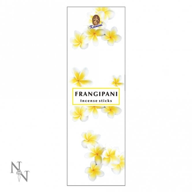 Nemesis Now Frangipani Scented Incense Sticks C2589G6