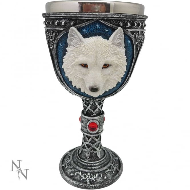 Nemesis Now Ghost Wolf Goblet U3092H7