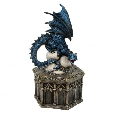 Nemesis Now Roost Of Cryondrix Dragon Figurine D1981F6
