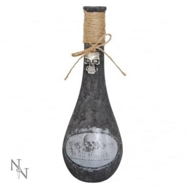 Nemesis Now Skull Maggots Bottle D1280D5