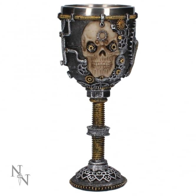 Nemesis Now Steampunk Let Off Some Steam Goblet U2931H7
