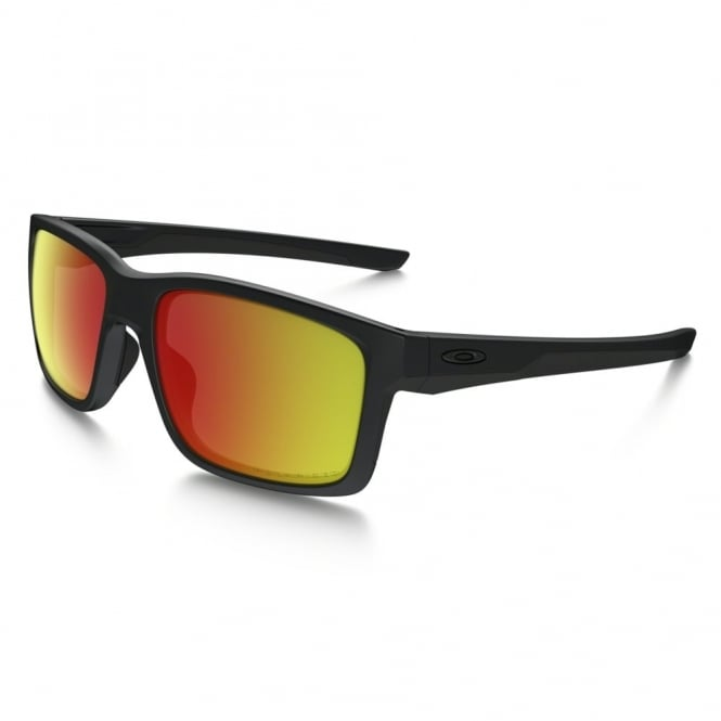 Matte Black Polarized Mainlink Sunglasses OO9264-07
