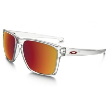 Matte Clear Silver XL Sunglasses OO9341-09