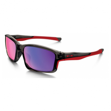 Oakley Polarized Grey Smoke Chainlink Sunglasses OO9247-10