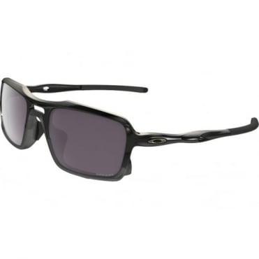 Oakley Polished Black Polarized Triggerman Sunglasses OO9266-06