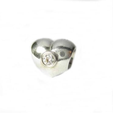 Pandora Clear Sparkling Heart Charm 790134CZ