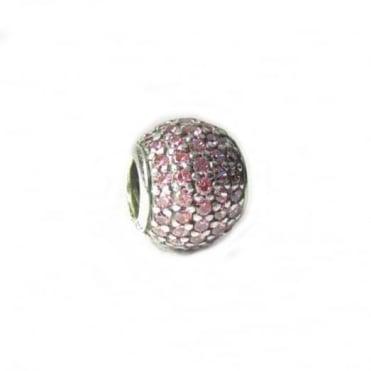 Pandora Pink Pave Charm 791051CZS