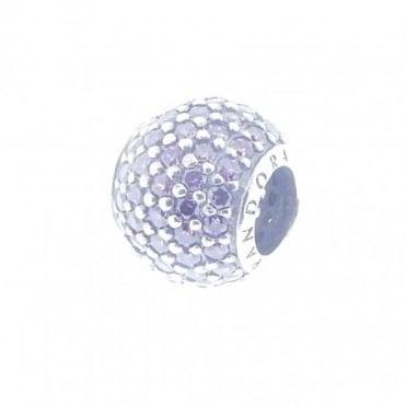 Pandora Purple Pave Charm 791051CFP