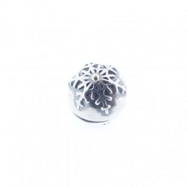 Pandora Silver & 14ct Gold Clip Charm 791232