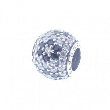 Pandora Silver Cherry Blossom Pave Charm 791170NCK