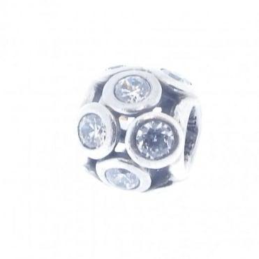 Pandora Silver CZ Openwork Charm 791153CZ