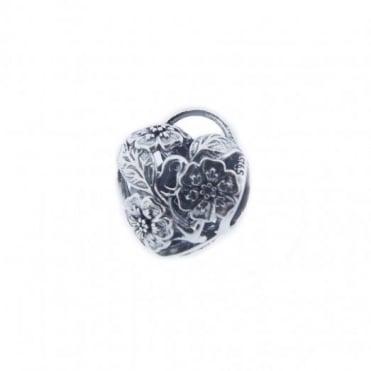 Pandora Silver Open Floral Heart Padlock Charm 791397