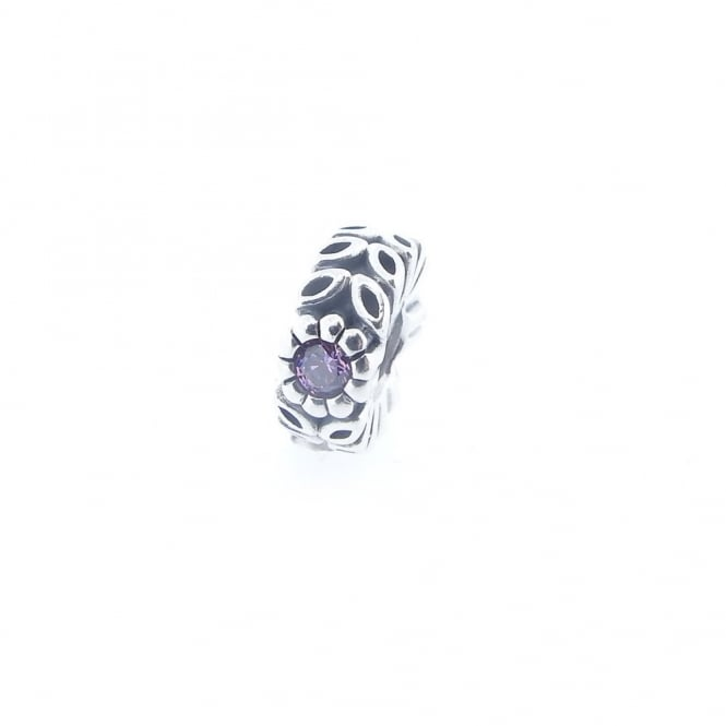 1a9e01dfd 6594f 245b1; coupon code for silver purple cz sparkling forest flower spacer  charm 791224cfp 78aaa 120d2