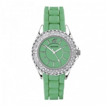 Party Time by Sekonda Green Ladies Watch 4315