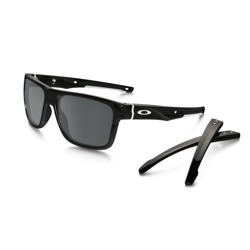 336353bd214 Polished Black Crossrange Sunglasses OO9361-0257 - Unisex from ...