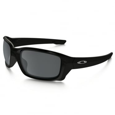 Polished Black Straightlink Sunglasses OO9331-01