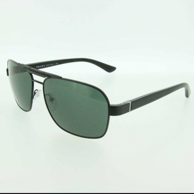 afa6caf990 PR55OS 1BO3O1 60 Matte Black Sunglasses - Sunglasses from Hillier ...