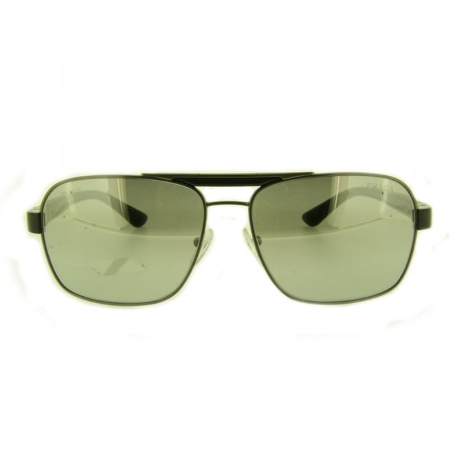 7cb7d5a8fb Brushed Gunmetal Sunglasses PR55OS 75S1A0 - Sunglasses from Hillier ...