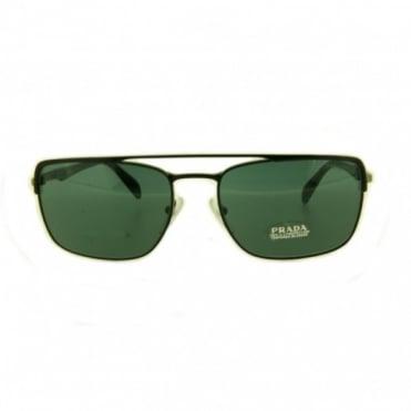 Prada Matte Black Sunglasses PR50QS 1BO0A9