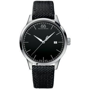 88 Rue Du Rhone Gents' Stainless Steel Black Nato Strap Watch 87WA154111
