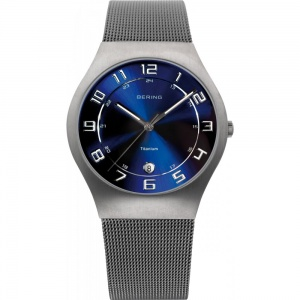 Bering Gents' Titanium Classic Watch 11937-078