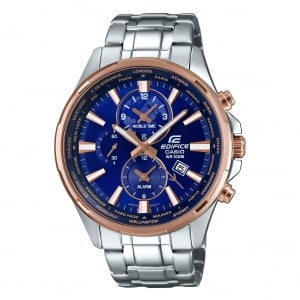 Casio Edifice Men's Edifice Alarm Chronograph Watch EFR-304PG-2AVUEF