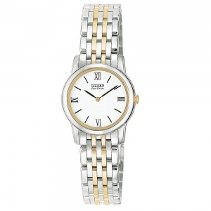 Citizen Ladies Two Tone Stiletto Eco-Drive Watch EG3044-59A