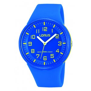 Lorus Kids Kids Blue Silicone Watch RRX51DX9
