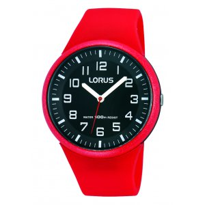 Lorus Kids Kids Red Silicone Watch RRX59DX9