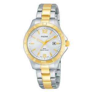 Pulsar Ladies' Two-Tone Watch PH7382X1