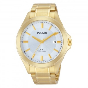 Pulsar Men's Gold Plated Watch PS9306X1
